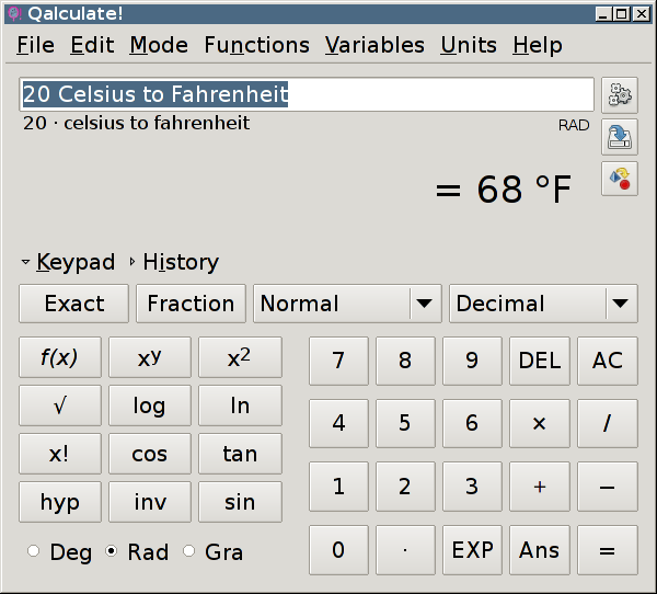 <cite>Qalculate!</cite>, My New Favorite Calculator