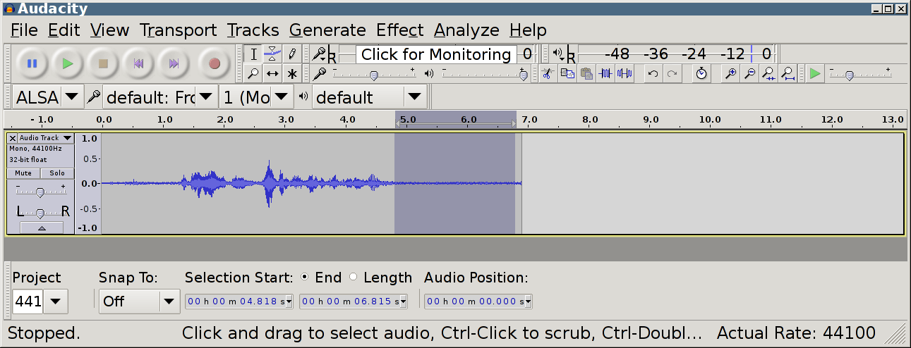 Less Noise and Louder Voice from Low Quality Microphone in